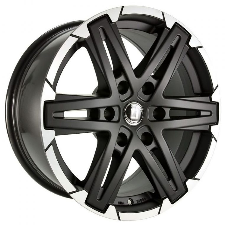 Diewe Wheels - Grezzo (Black Machined)
