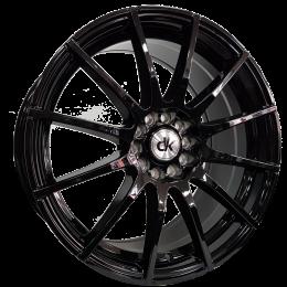 DK Wheels - 102 (Gloss Black)