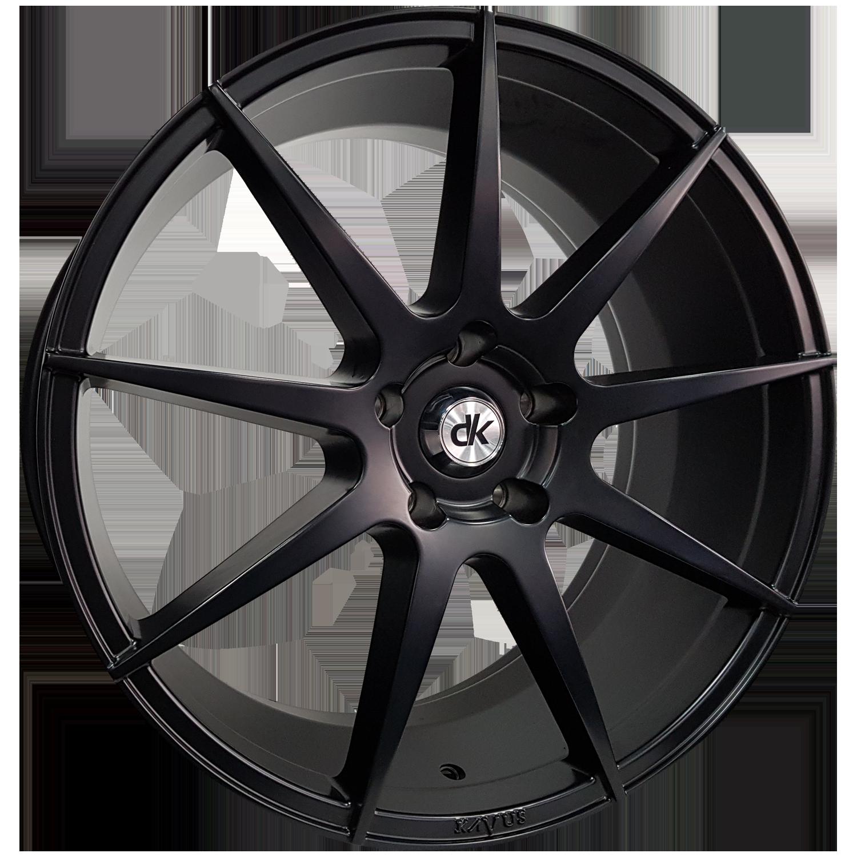 DK Wheels - KAVUS (Matt Black)