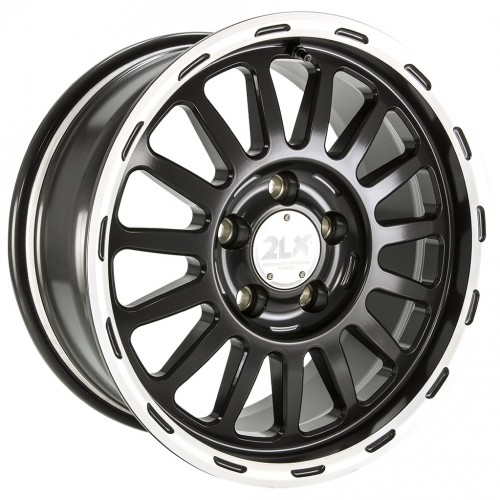 Diewe Wheels - 2LX (Black Machined)