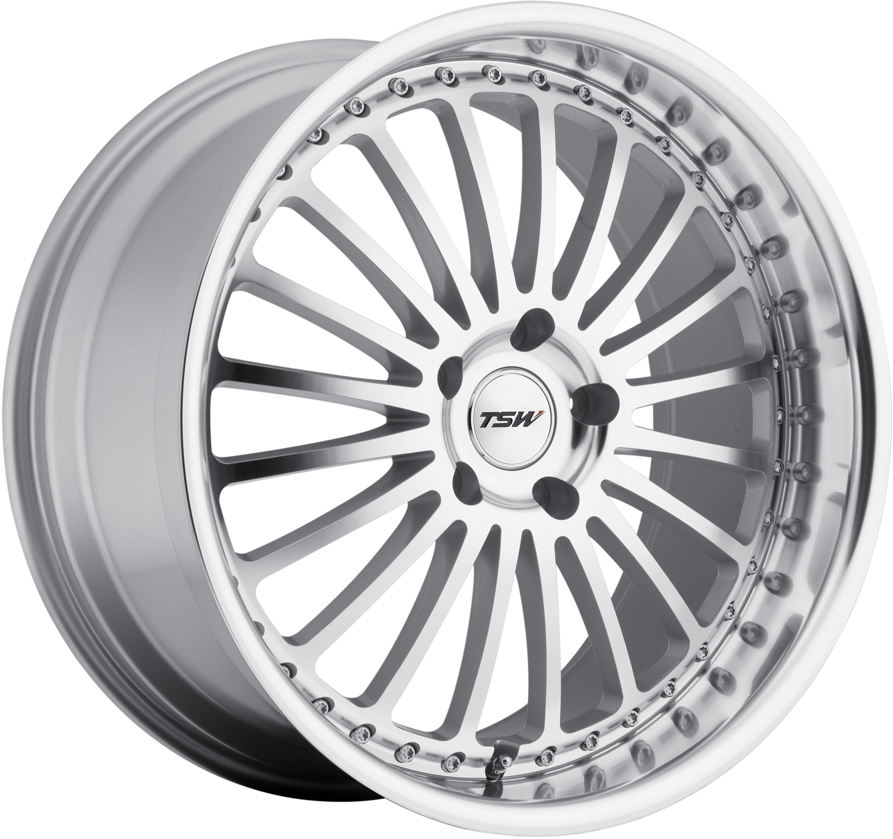 TSW - Silverstone (Silver / Mirror Cut Face & Lip)