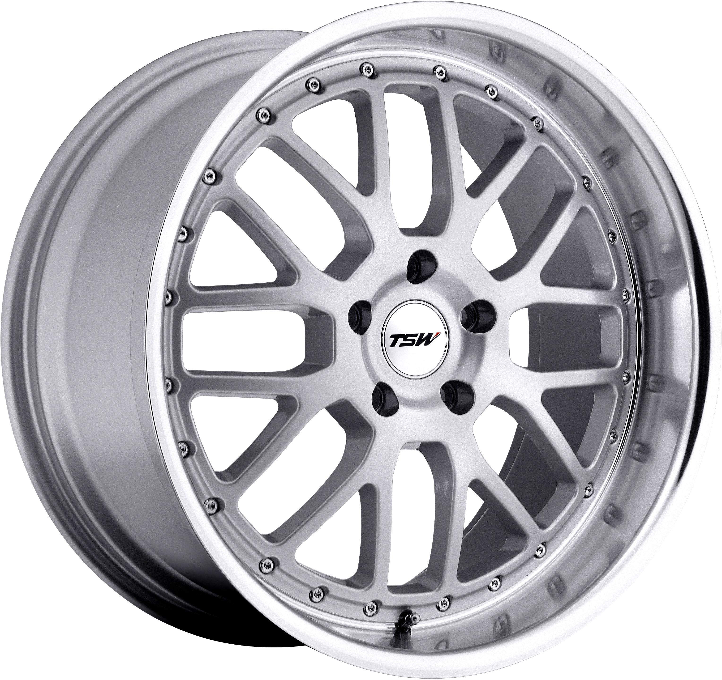 TSW - Valencia (Silver / Mirror Cut Lip)