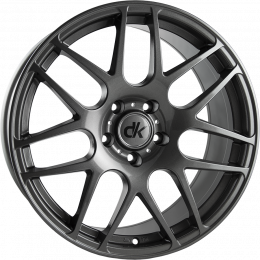 DK Wheels - 108 (Gunmetal)