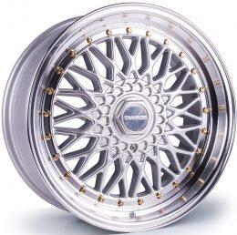 Dare - DR RS (Silver / Polished Lip Gold Rivet)