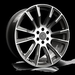 Hawke Wheels - Denali (Gunmetal Polish)