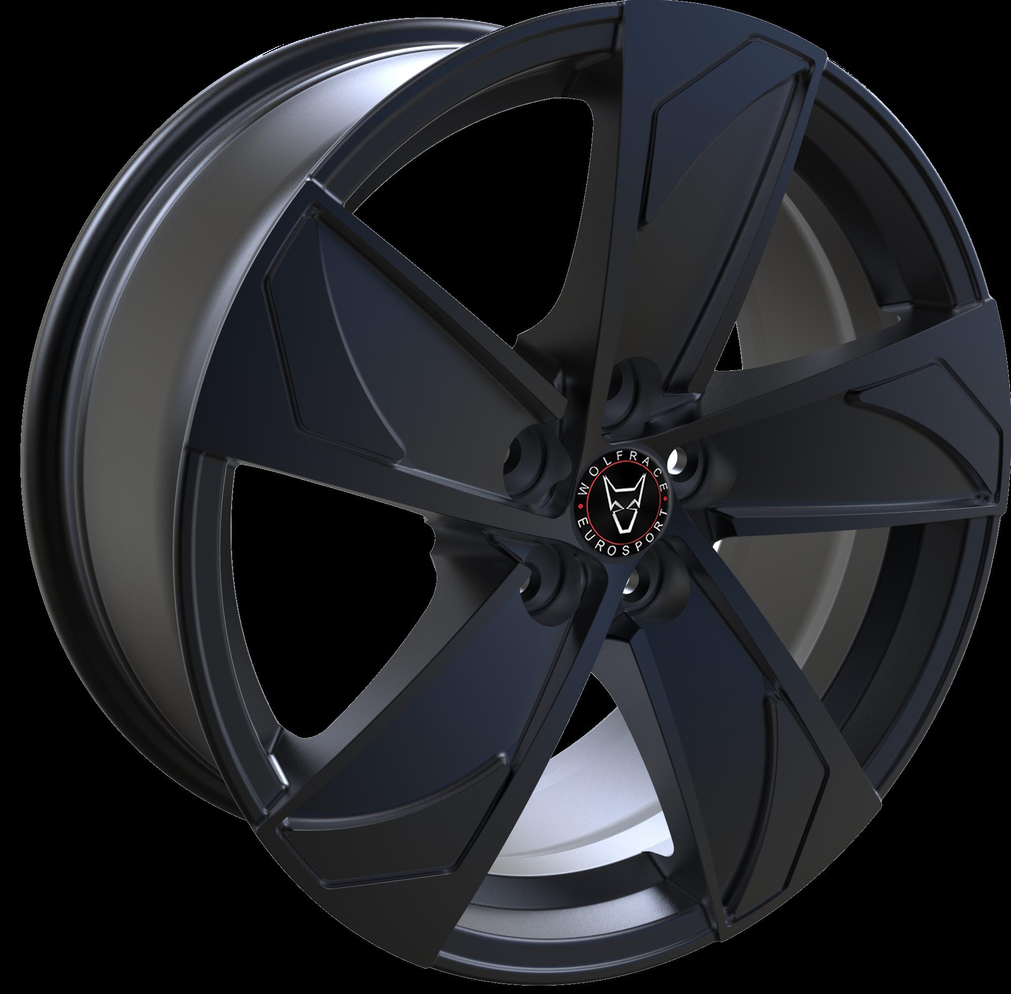 Wolfrace Eurosport - AD5 (Gloss Black)