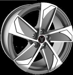 Wolfrace Eurosport - AD5 (Gunmetal / Polished)