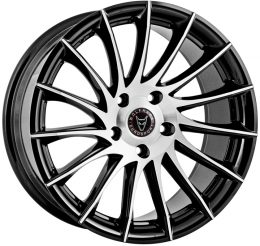 Wolfrace Eurosport - Aero (Gloss Black / Polished)