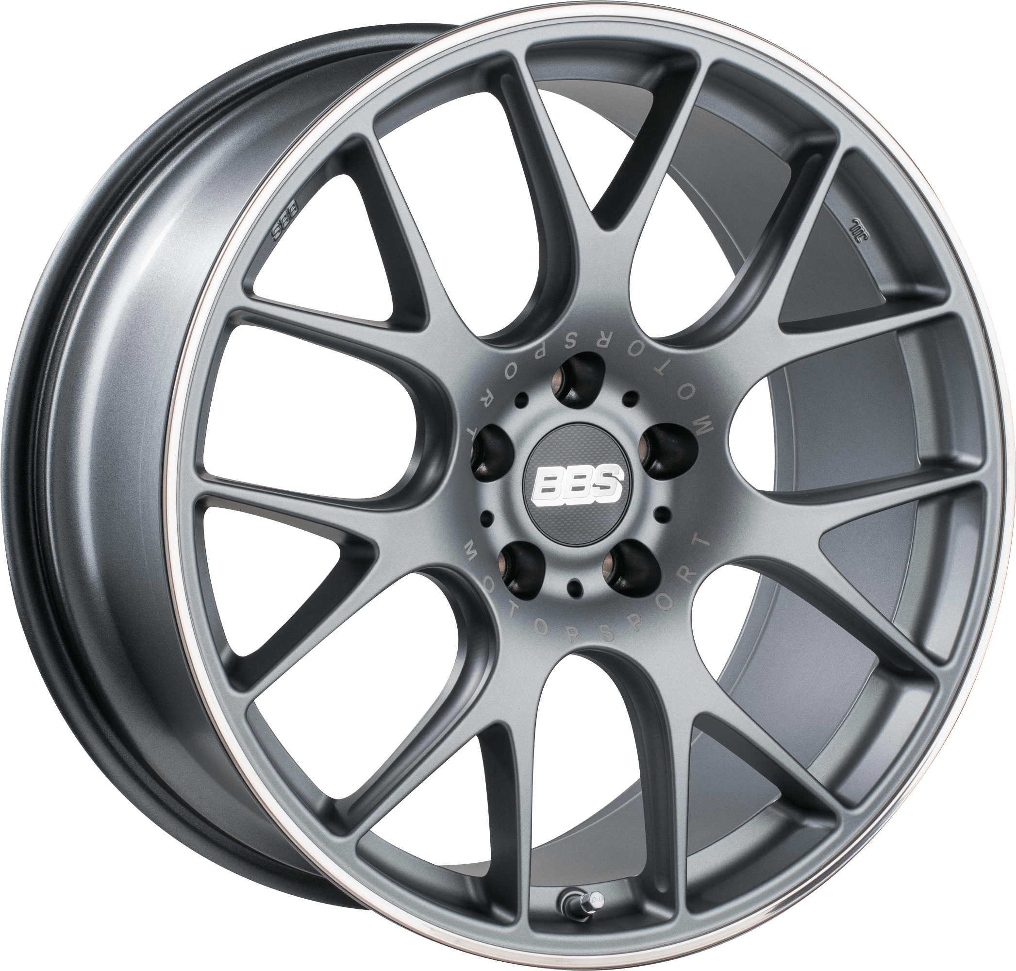 BBS - CH-R (Satin Anthracite with Stainless Steel Rim Protector)
