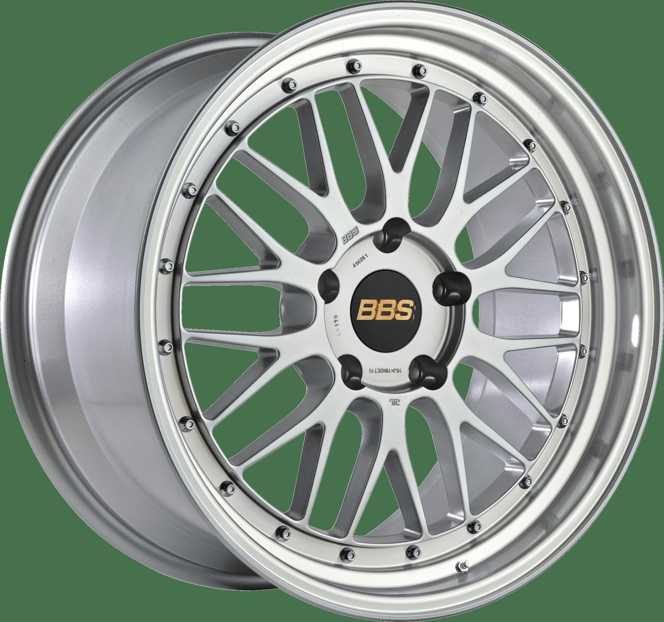BBS - Le-Mans (Forged Split Rim) LM (Brilliant Silver with Polished Rim)