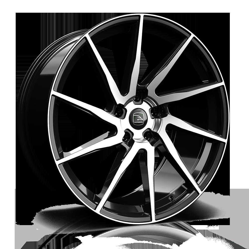 Hawke Wheels - Arion (Black Polished)