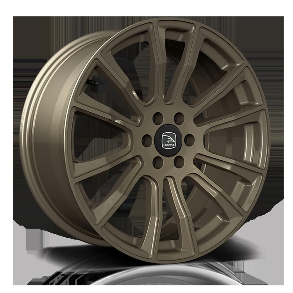 Hawke Wheels - Denali (Matt Bronze)