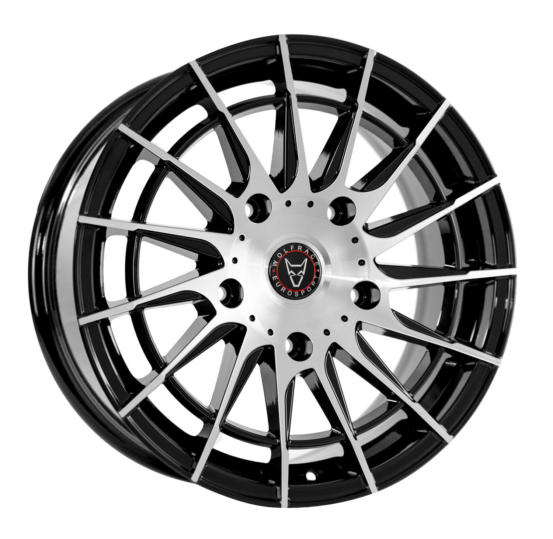 Wolfrace Eurosport - Aero Super-T (Gloss Black / Polished)