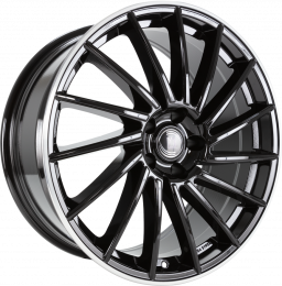Diewe Wheels - Briosa (Black Machined Lip)