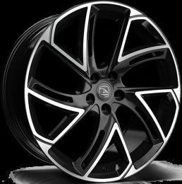 Hawke Wheels - Condor (Black Polish)