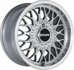 Ronal - LS (Silver Polished Lip)