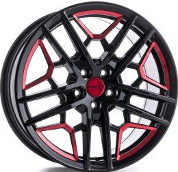 Borbet - GTY (black red glossy)