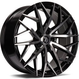 79Wheels - SV-C (GLOSS BLACK POLISHED FACE)