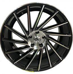 DK Wheels - SPIN (Black Polished)